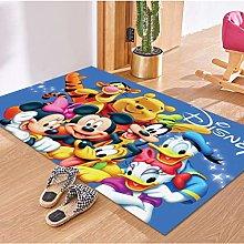 Carpet Children'S Room Cartoon Cartoon Mickey