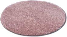 Carpet circle SHAGGY MICRO rose Shades of pink