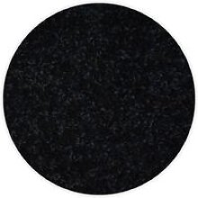 Carpet circle TRENDY 159 black Black round 150 cm