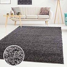 Carpet city ayshaggy shaggy rug, deep pile, plain