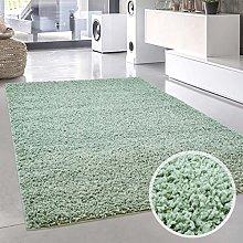 Carpet City Shaggy Rug Deep Pile Long Pile Pastel
