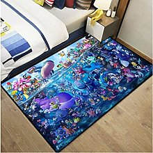 Carpet Cute Cartoon Underwater World Rectangular