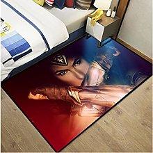 Carpet Dc Justice League Anime Rug Wonder Woman