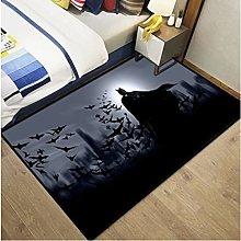 Carpet Dc Justice League Home Anime Batman