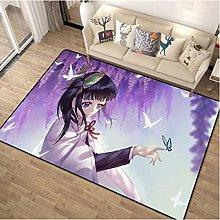 Carpet Demon Killer Cartoon Rug Household