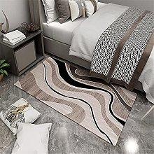 Carpet fireplace rug Bedroom bedside carpet brown