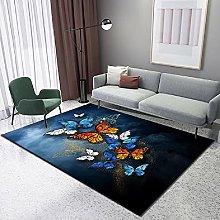 Carpet kitchen carpet Soft and comfortable Black