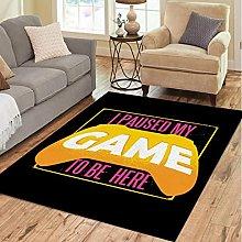 Carpet Living Room Sofa Bedroom Anti-Slip Area