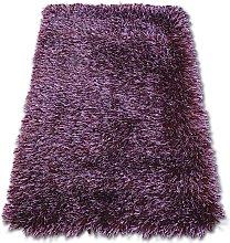 Carpet LOVE SHAGGY design 93600 purple Shades of