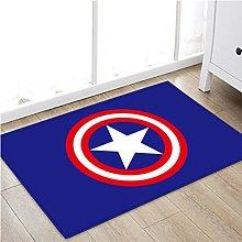 Carpet Marvel Captain America Entry Rug Avengers