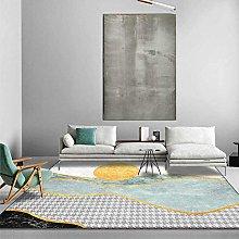 Carpet, Modern Marble Houndstooth Fresh Light