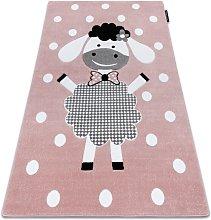 Carpet PETIT DOLLY sheep pink Shades of pink