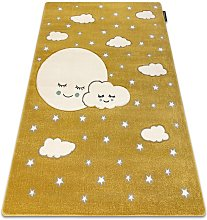 Carpet PETIT MOON stars, clouds gold Shades of