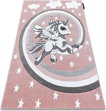 Carpet PETIT PONY pink Shades of pink 80x150 cm