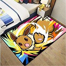Carpet Pikachu Cartoon Home Cartoon Rug Living