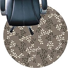 Carpet Protector For Chairs, Anti Slip Round