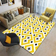 Carpet Rectangular Children'S Carpet Yellow