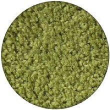 Carpet round ETON green Shades of green round 100