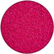 Carpet round ETON pink Shades of pink round 150 cm