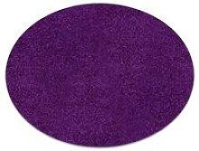 Carpet round ETON purple Shades of violet round