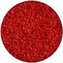 Carpet round ETON red Shades of red round 133 cm