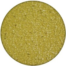 Carpet round ETON yellow Shades of yellow and gold