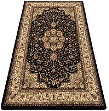 Carpet ROYAL AGY design 0521 black Black 200x400 cm