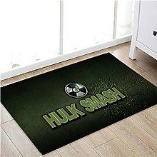 Carpet Rug Hulk Avengers Floor Mat Marvel