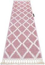 Carpet, Runner BERBER TROIK pink - for the