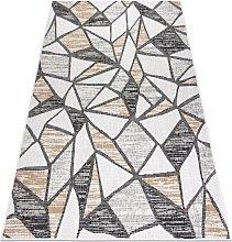 Carpet SISAL COOPER Mosaic 22208 ecru / black