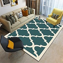 Carpet sofa for living room rug Green yellow