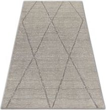 Carpet SOFT 8033 ETHNO DIAMONDS cream / light