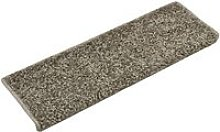Carpet Stair Treads 15 pcs 65x25 cm Grey QAH34796