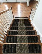 Carpet Stair Treads NON-SLIP MACHINE WASHABLE