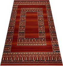 Carpet VERA 2375 Frame oriental, ethnic terra