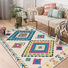 Carpets area rugs for living room Blue red yellow
