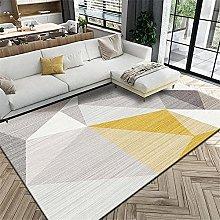 Carpets bedroom carpets Yellow gray geometric