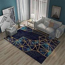 Carpets desk rug Living room blue carpet starry