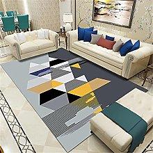 Carpets desk rug Soft and comfortable Black gray