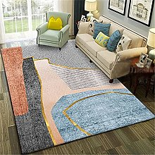 Carpets desk rug Soft and comfortable Blue gray