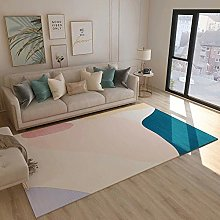 Carpets fireplace rug Pink blue yellow living room