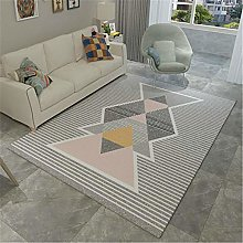 Carpets For Living Room Large Contemporary Striped