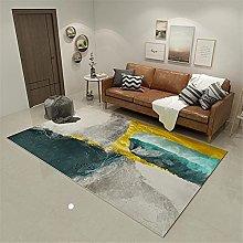 Carpets furniture living room Green golden yellow