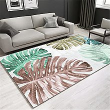 Carpets large rug Soft and comfortable Brown green