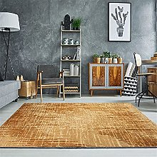 Carpets sofa for bedroom rug Yellow Brown Simple