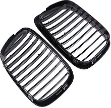 Carstyling Gloss Black Kidney Grilles Grill