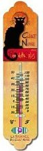 Cartexpo TT729 Metal Thermometer, Tourne du Chat
