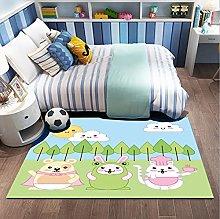 Cartoon Animal Forest Cat Rabbit Print Kids Toy