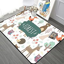 Cartoon Animal Large Carpet Crystal Fleece Anti