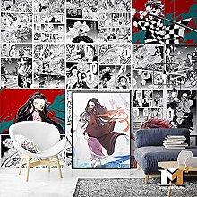 Cartoon Anime Demon Slayer Wallpaper Bedroom